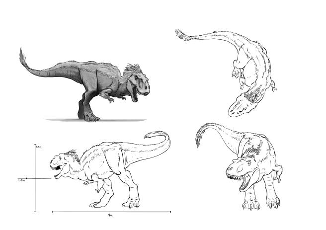 DinoDesignSheet_featherRex_V05